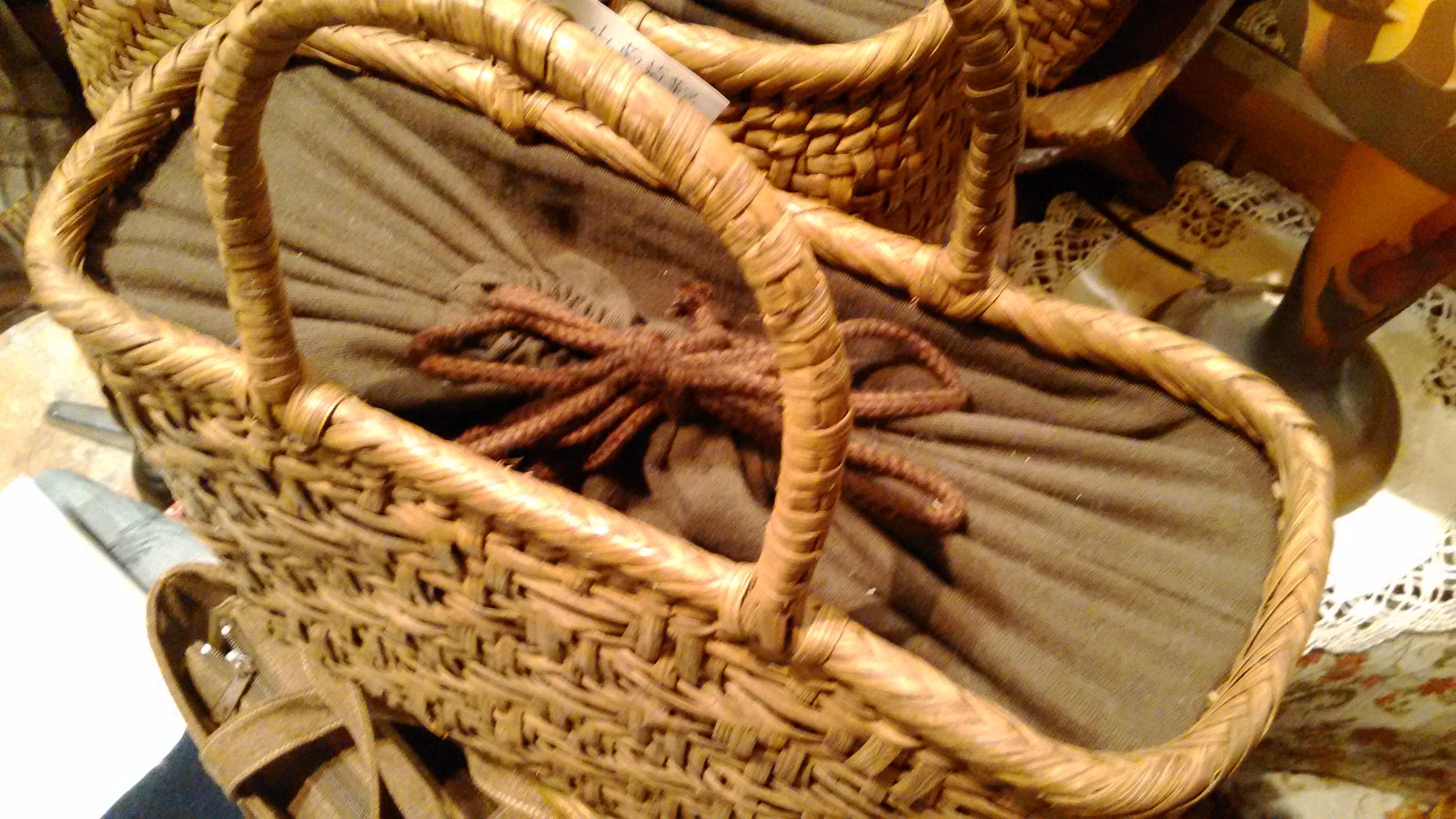 手編み山葡萄かごバック (4)